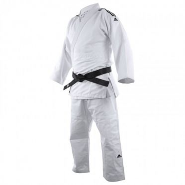 Adidas judo uniform J650 white/black