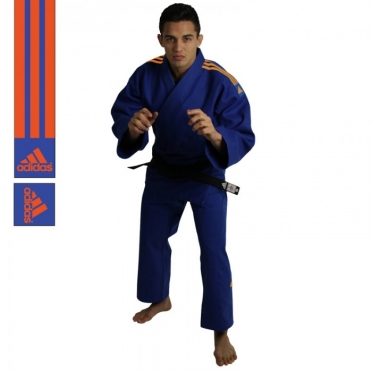 Adidas judo suit J690 Quest blue / orange
