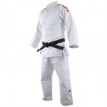 Adidas judo uniform J650 white/red