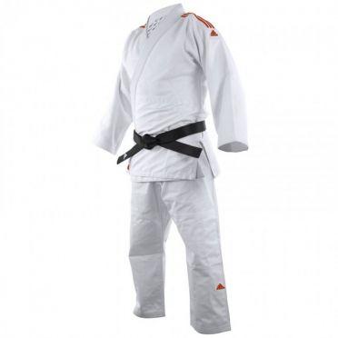 Adidas judo uniform J650 white/red