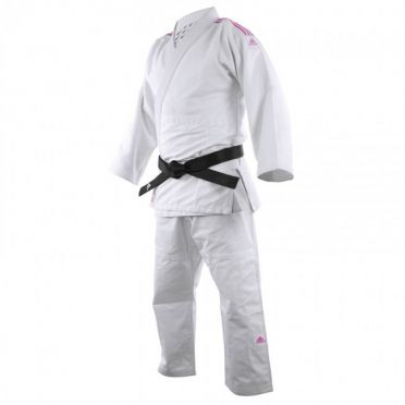 Adidas judo suit J690 Quest white/pink