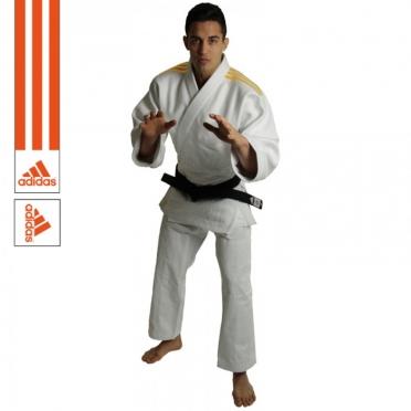 Adidas judo suit J690 Quest white / orange