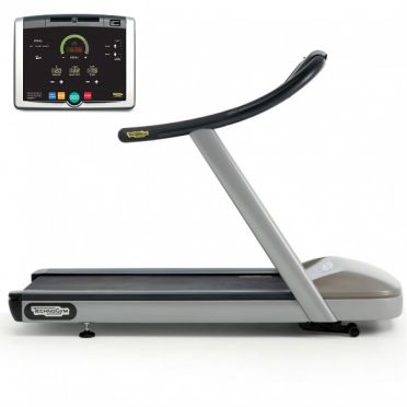 TechnoGym treadmill Jog Now Excite+ 500i silver used