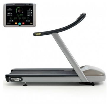 TechnoGym treadmill Jog Now Excite+ 700i silver used