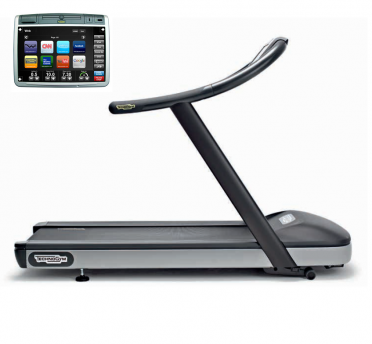 TechnoGym treadmill Jog Now Excite+ 700 Visioweb black used