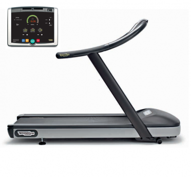 TechnoGym treadmill Jog Now Excite+ 500i black used