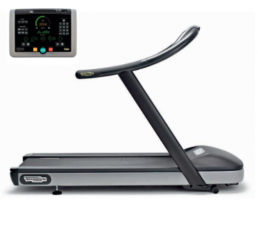 TechnoGym treadmill Jog Now Excite+ 700i black used