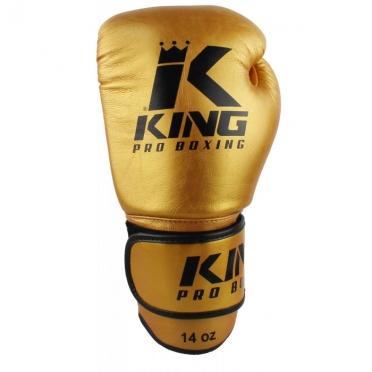 King KPB-5 Boxing Gloves Pro Boxing gold