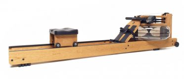 Waterrower Rowing machine oxbridge solid cherry wood demo