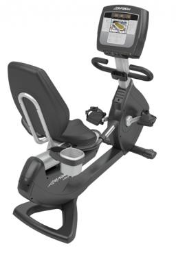 "Life Fitness recumbent 95R Inspire 7"" Elevation (second hand model)"