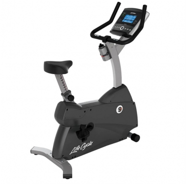 Life Fitness Exercise Bike LifeCycle C1 Go Console demo