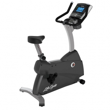 Life Fitness Exercise Bike LifeCycle C3 Go Console used