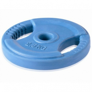 LifeMaxx Body Pump Disc 2,5 kg 30 mm blue (LMX 1132.b)