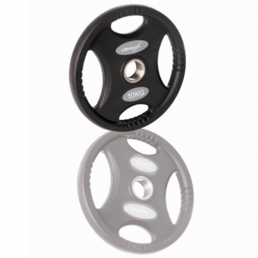 LifeMaxx Olympic Disc 1,25 kg 50 mm black (LMX 86)