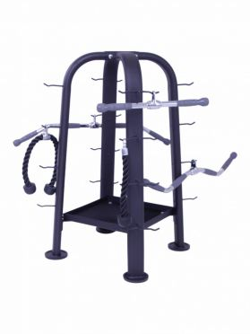 Lifemaxx accessory tower black