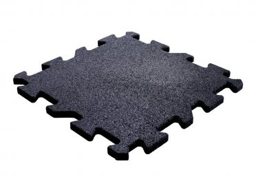 Lifemaxx Puzzle floor 20mm Crossmaxx jigsaw rubber tile (50 x 50 cm)
