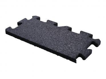 Lifemaxx Puzzle floor 20mm Crossmaxx jigsaw rubber edge (50 x 25 cm)