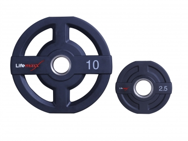 Lifemaxx PU olympic disc 2.5kg 50mm LMX73