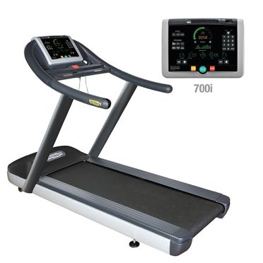 TechnoGym treadmill Jog Now Excite+ 700i black used