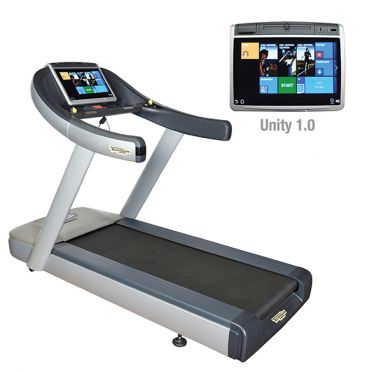 TechnoGym treadmill Excite+ Run Now 700 Unity silver used