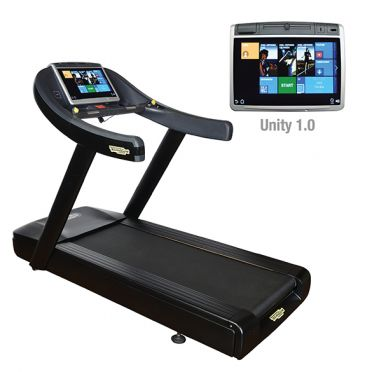 TechnoGym treadmill Excite+ Run Now 700 Unity black used
