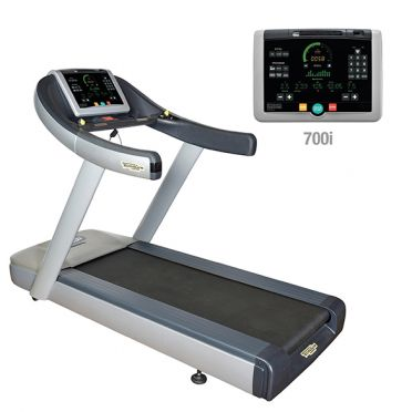 TechnoGym treadmill Run Now Excite+ 700i silver used