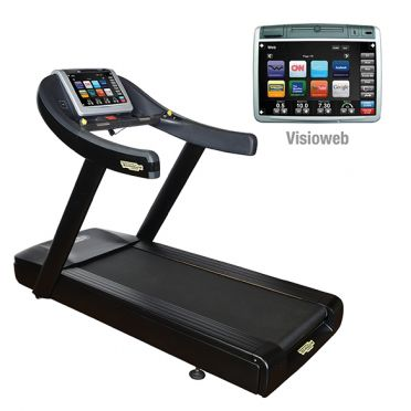 TechnoGym treadmill Run Now Excite+ 700 Visioweb black used