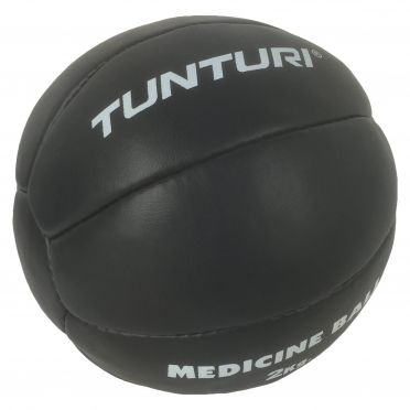 Tunturi Medicine ball synthetic leather 2 kg black