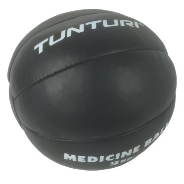 Tunturi Medicine ball synthetic leather 5 kg black