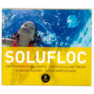 Melpool SoluFloc dry flocculant packs