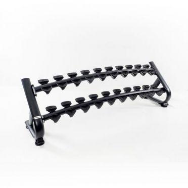 Muscle Power Dumbbell Rack for 10 sets of dumbbells deluxe