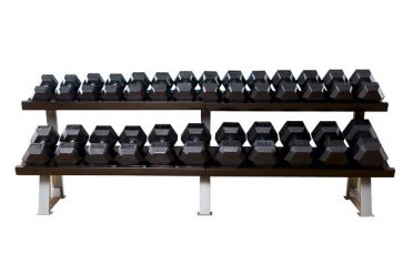 Muscle Power Dumbbell rack heavy 2-layer