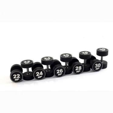 Muscle Power dumbbellset urethane 22 - 30 kg