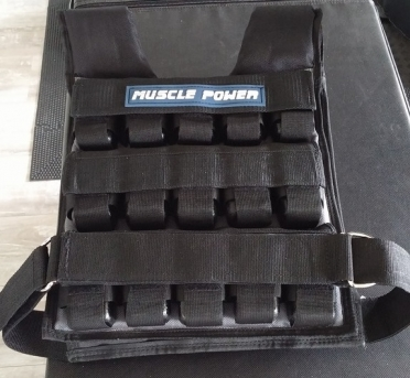 Muscle Power Weight Vest 10 kg PRO MP1215 Kopie