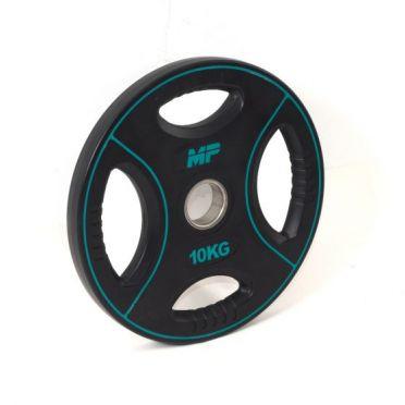 Muscle Power 50mm PU disc 4 grip 10 kg