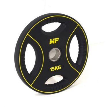 Muscle Power 50mm PU disc 4 grip 15 kg