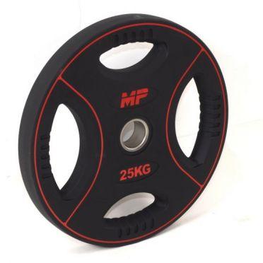 Muscle Power 50mm PU disc 4 grip 25 kg