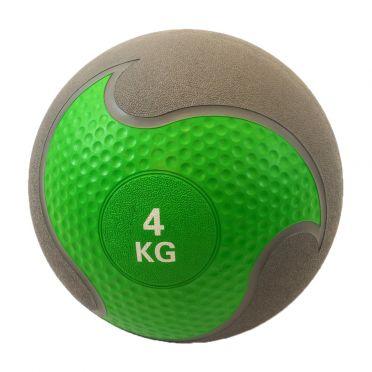 Muscle Power medicine ball rubber 4 kg