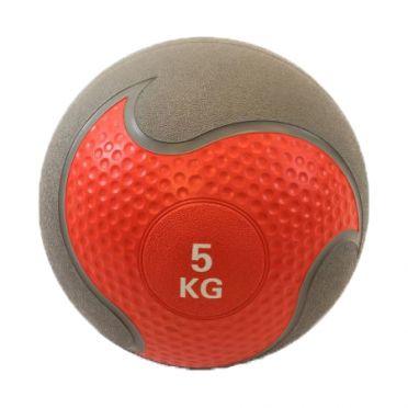 Muscle Power medicine ball rubber 5 kg