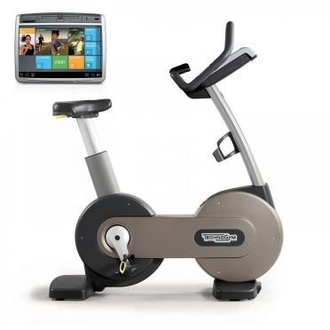 TechnoGym excercise bike Excite+ New Bike 700 Unity silver used
