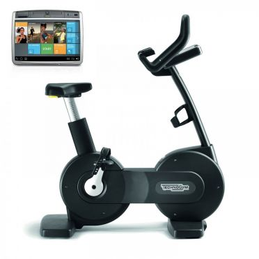 TechnoGym excercise bike Excite+ New Bike 700 Unity black used
