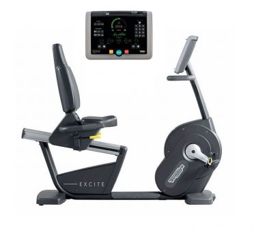 TechnoGym recumbent bike Recline Excite+ 700i black used