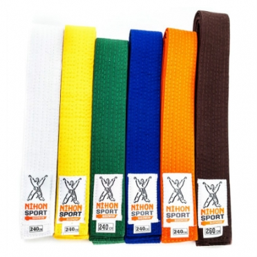 Nihon judo belt 1 color