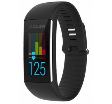 Polar A360 fitness tracker black