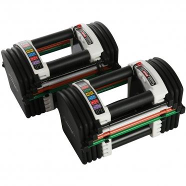 PowerBlock Flex U90 Stage I base set (2.3 - 22.7 kg pair)