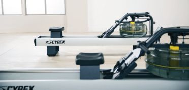 Commercial indoor rowers