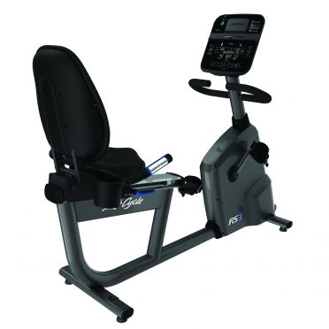 Life Fitness RS3 recumbent LifeCycle Track Connect console