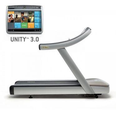 TechnoGym treadmill Excite+ Run Now 700 Unity 3.0 silver used