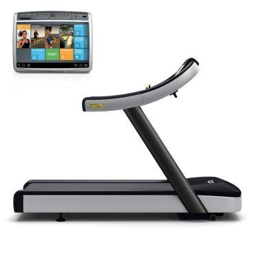 TechnoGym treadmill Excite+ Run Now 700 Unity black used