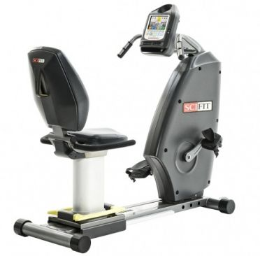 SciFit medical recumbent bike ISO1000R standard seat